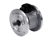 Clutch brake extruded housing