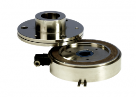 Ball bearing mounted clutch