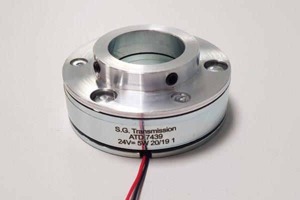 Ultraflache Permanentmagnetbremse - ATD7439